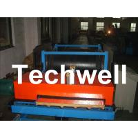 0 - 12m/min Forming Speed PLC Control PU Insulated Sandwich Panel Line With Band Saw Cutting Manufactures