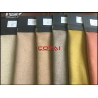 Buy cheap Heavyweight Double Faced Alpaca Wool Fabric , Coat Wool Fabric Keep Warm from wholesalers