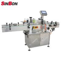 SINBON Round Bottle Star Wheel Labeling Machine fixed point labeling machine Manufactures