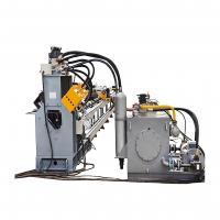 China Punching Marking And Cutting CNC Angle Line Machine For Flat Steel And Channel Steel on sale