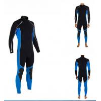 3mm CR Neoprene Diving Suit for Men Water Sports , Smooth Skin Manufactures