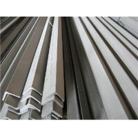 ASTM 304 Stainless Steel Angle Bars With Polished, Peeled Surface For Petroleum, Chemical Industry Manufactures