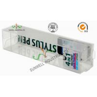 China Electronics Ballpoint Plastic Packaging Boxes , Clear Plastic Display Boxes on sale