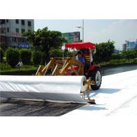 High performance polyester spunbond Non Woven Geotextile road construction Manufactures