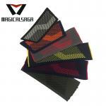 Men casual textile vamp flip flops outdoor comfort knit flat slipper upper Manufactures