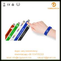 China Affordable Promotional Giveways Custom Wristband USB Flash Drive on sale