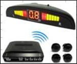 China Yellow LCD Wireless Car Parking Sensors DIY Bi-Bi sound Alarm HF 433Mhz on sale