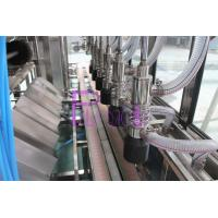 China Four Washing Steps Automatic Water Filling Machine With Stainless Steel Chain on sale