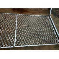 China Razor Mesh Welded Razor Wire Mesh Fence Panel For Protective Fence Prison Fence on sale