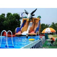 Outdoor Play Gym Water Park / Amusement Floating Water Park Games Inflatable Manufactures