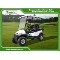 White 2 Seater Beach Electric Hunting Buggy With Trojan Battery Manufactures