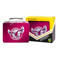 Embossed  Lunch Tin Box Eagle Design For Football Fans Collection Manufactures