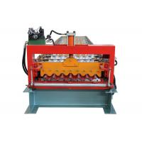 China PLC Program Corrugated Roof Sheet Making Machine Automatic Producing With Hand Touch Screen on sale
