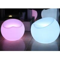 Outdoor Party Club Decoration Led Light Chair , Apple Shape Garden Led Chairs And Tables Manufactures