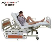 Quality Healthcare Back Lift And Leg Rest , Turn Over Electric Home Beds With Toilet for sale