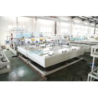 China Automatic Plastic PVC Pipe Belling Machine PLC Control With Single Heating Station on sale