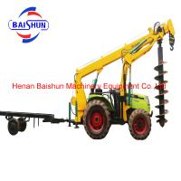 Cost effective wholesale tractor post hole digger pole erection machine Manufactures