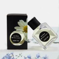 China Home Decoration Natural Reed Diffuser Aroma Essence Oil Glass Bottle With Rattan Stick on sale