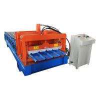 High Build Roofing Sheet Roll Forming Machine 12 Forming Steps With PLC Automatic Program Manufactures