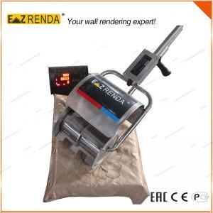 Quality 9.8kgs Small Folding Portable Cement Mixer , No Oil No Hopper Mortar Mixer for sale