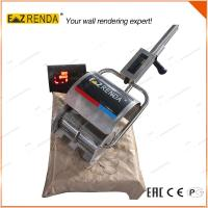 Quality 9.8kgs Small Folding Portable Cement Mixer , No Oil No Hopper Mortar Mixer Machine for sale