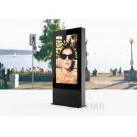 China 2000~3000 nits Outdoor Touch Screen Kiosk 178 /178 Viewing Angle For Advertising Players on sale