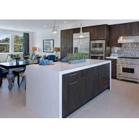 Quality White Artificial Stone Waterproof Custom Bar Countertops Worktops / Kitchen Bar for sale