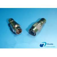 Male And Female Self Latching Hirose Circular Connectors 6 Pins Compatible Manufactures
