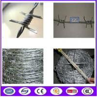 China Hot Dipped Galvanized Babred Wire with best quality in Chinba on sale