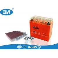 China 12 Volt Gel Cell Rechargeable Battery , Motorbike Gel Battery Corrosion Resistant on sale