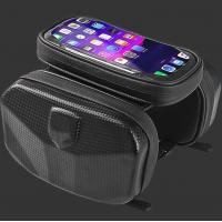 Cycling Black Bike Hard EVA Case Handlebar Bar Bag Waterproof Touch Screen Phone Box Manufactures