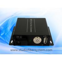 Quality 1port USB2.0 fiber transmitter and receiver over fiber to 5KM with remote power switch to control PC on/off for sale