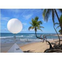 China 2000W Light Up Balloons Comfortable Day And Night Seaside Decoration Lighting on sale