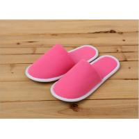 Luxury Indoor Terry Towel Disposable Hotel Slippers For Hotels / Guests Customized Manufactures