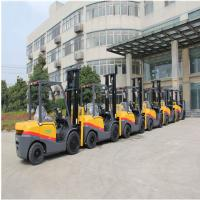 Customized Color Diesel Engine Forklift 3.5 Ton With 3000mm Lift Height Manufactures