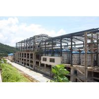 High Tensile Steel Building Workshop Anti Corrosion Coated Surface Flexibility