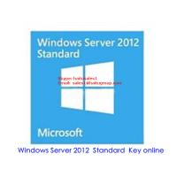 China Windows Server 2012 Standard Key For Windows Product Key Online Activation on sale