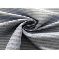 100% Polyester Non Fade Outdoor Fabric Dobby Herringbone Coating Wear - Resistant Manufactures