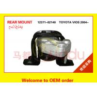 Black Color  Auto Engine Mounts For VIOS Car 2004 12371-02140 1 Year Warranty Manufactures