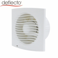 China Factory Direct Economic 6 Inch Square Low Noise Bathroom Used Ventilation Exhaust Fans on sale