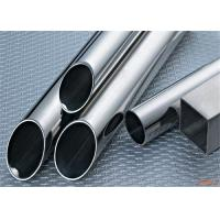Mill finish Round Stainless Steel Tubing JIS AISI For Industry Manufactures