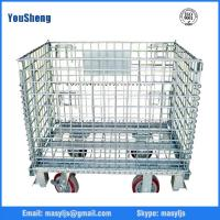 Quality Storage cage for warehouse storage wire mesh cage Metal storage cage for sale