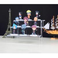 China Acrylic Tiered Display Stands For Amiibo Funko Pop Figure on sale