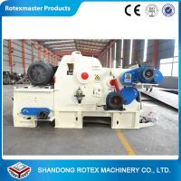High Capacity Wood Sawdust Maker Machine / Wood Chip Pellet Machine Manufactures