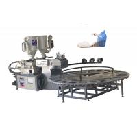China Double Density PVC TR TPU Tpr Sole Making Machines For Leather Shoes / 5*3*2m on sale