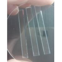 China Wear Resistance Sapphire Parts Aluminum Oxide Crystal Substrate Glass Blade For Razor on sale