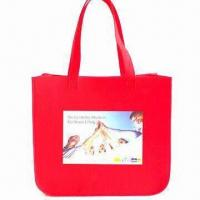 Large Felt Shoulder Bag, Customized Sizes or Designs are Welcome Manufactures