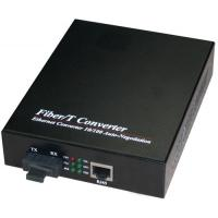 9k Byte Data Packet Opitc Fiber Media Converter , SFP To RJ45 Converter Manufactures