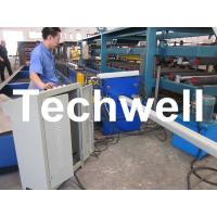 PLC Frequency Control System Rainspout Roll Forming Machine for Rainwater Downpipe Manufactures