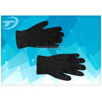 100% Natural Latex Disposable Hand Gloves / S Size Latex Examination Gloves Manufactures